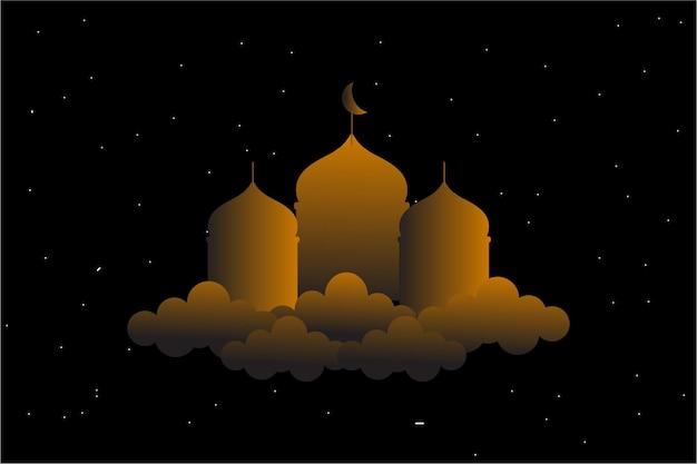 Sfondo di eid mubarak e ramadan kareem