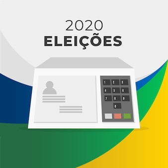 Elezioni 2020 brasile illustrazione