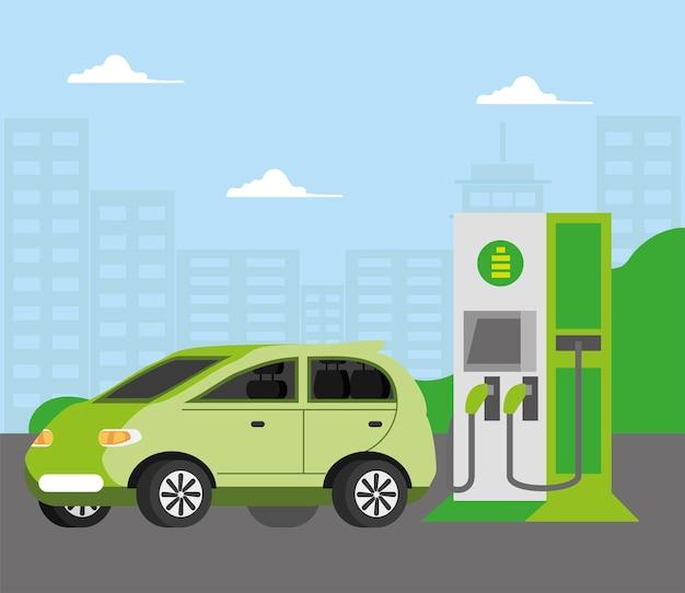 Stazione e alimentazione alternativa per auto elettriche