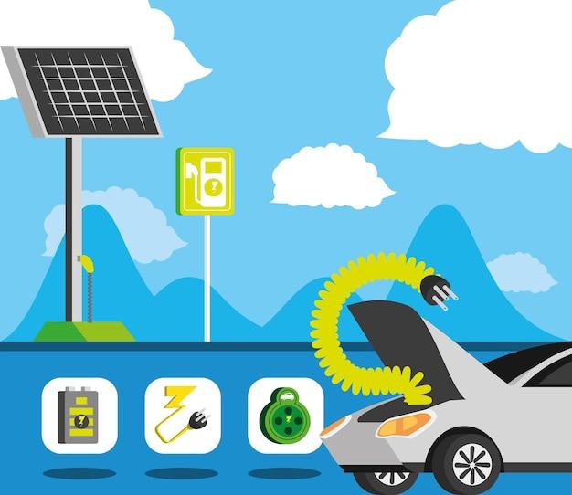 Energia verde per auto elettriche
