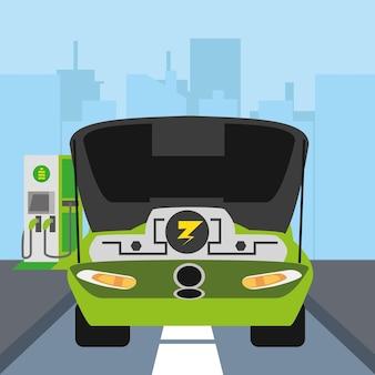 Motore per auto elettrica electric