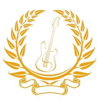 Simbolo della chitarra elettrica
