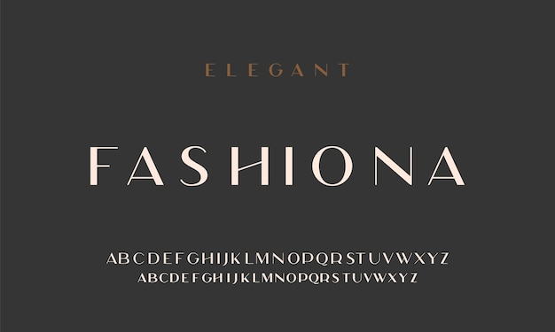Elegante alfabeto lettere senza font. caratteri tipografici classici maiuscolo normale, minuscolo.