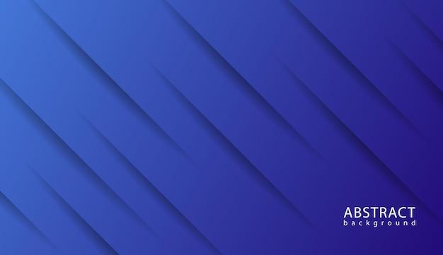 Elegante design della linea diagonale con sfondo blu