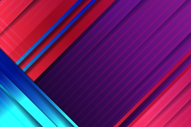 Elegante sfondo aziendale con modello di linee