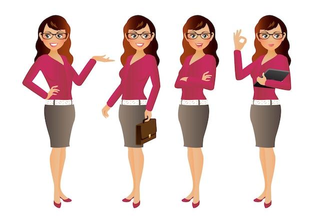 Insieme elegante della donna di affari