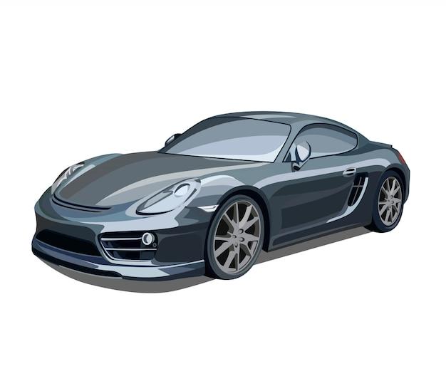Illustrazione di auto elegante