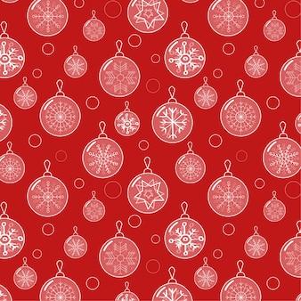 Elegante motivo natalizio con motivi natalizi