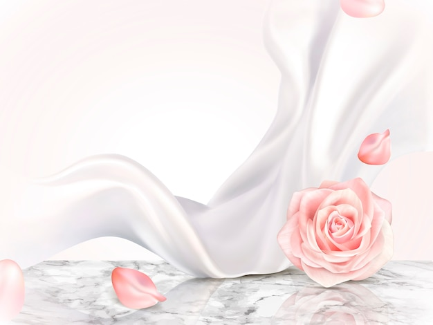 Elegante sfondo decorativo illustrazione