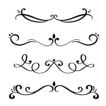 Set di divisori e separatori eleganti