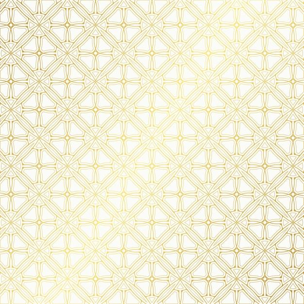 Elegante motivo geometrico dorato