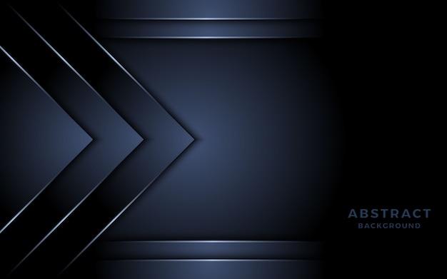 Elegante sfondo blu scuro con luce.