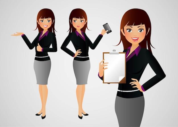 Donne di affari eleganti della gente