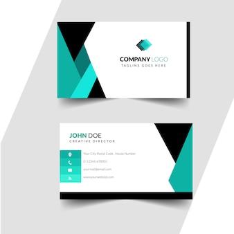 Elegante design di colore brillante modello professionale biglietto da visita
