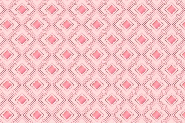 Elegante motivo art déco in oro rosa