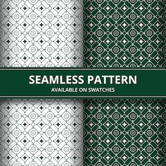 Fondo senza cuciture elegante tradizionale batik. motivo di lusso e classico per carta da parati di sfondo.