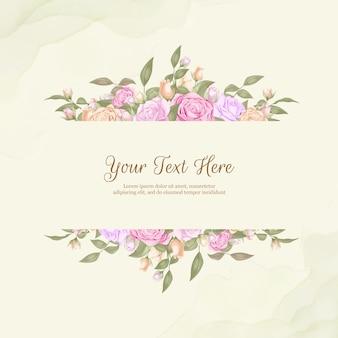 Bouquet da sposa elegante con rose e foglie