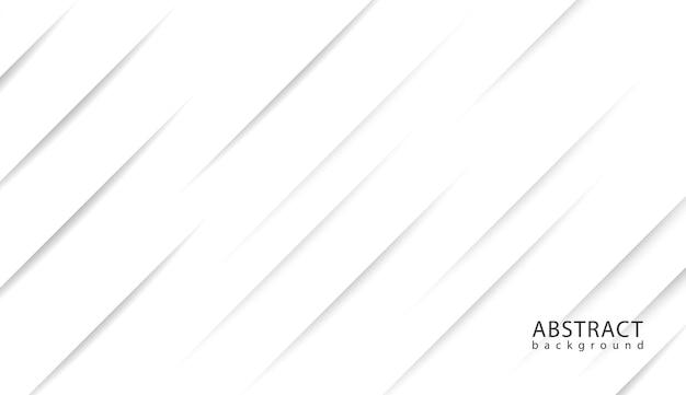 Elegante design della linea diagonale su sfondo bianco