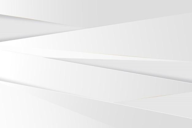 Carta da parati elegante trama bianca Vettore Premium