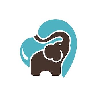 Immagini di vettore di logo dell'elefante
