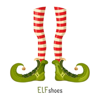 Scarpe verdi da elfo