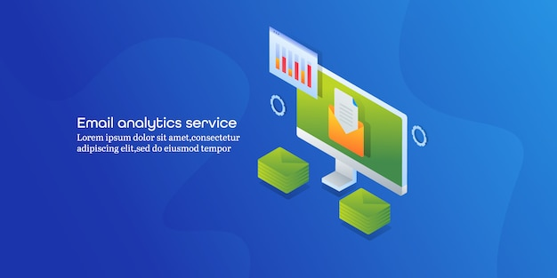 Banner del servizio di analisi della posta elettronica