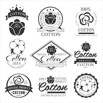 Emblema, badge e logo prodotto biologico.