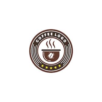 Logo emblem coffee