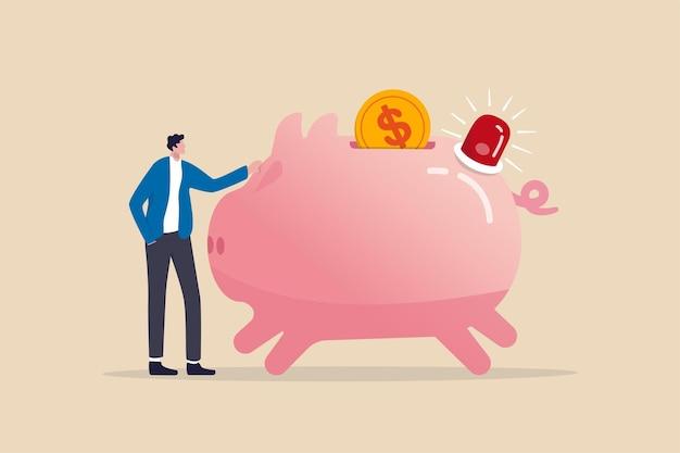 Fondi di emergenza preparati per pagare situazioni impreviste nella vita