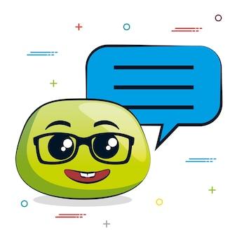 Notifica di messaggi emoji