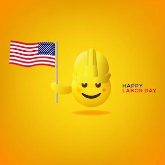 Emoticon tenere una bandiera
