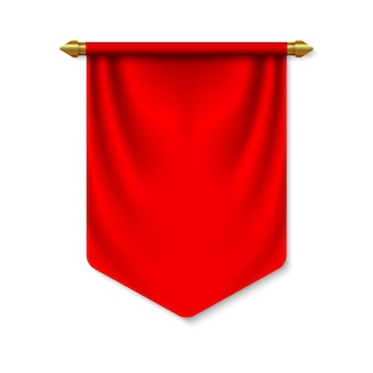Bandiera 3d pennant vuota