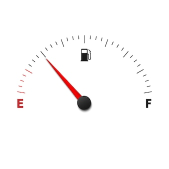 Svuotare il misuratore del carburante