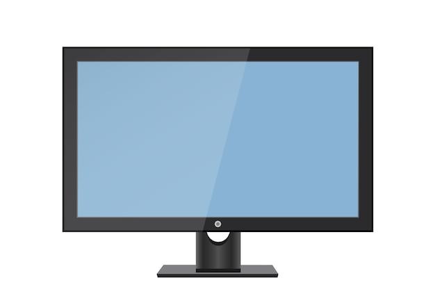 Schermo lcd vuoto, display al plasma o tv per il design del monitor
