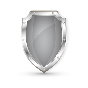 Schermo metallico vuoto, scudo di protezione
