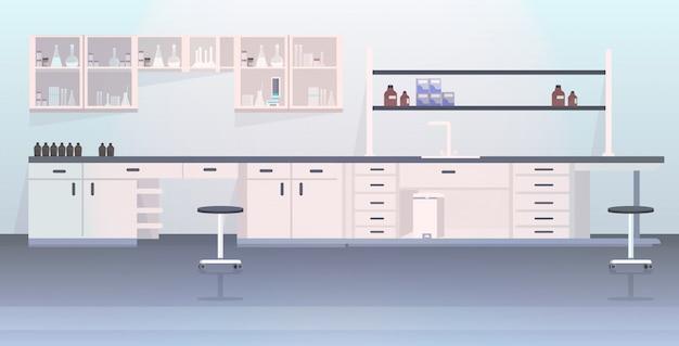 Laboratorio moderno vuoto