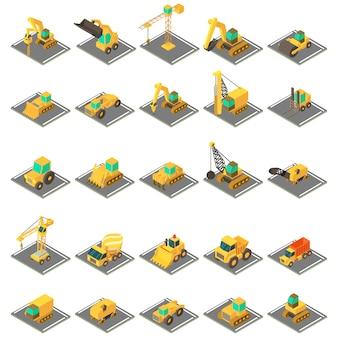 Set di icone di ingegneria