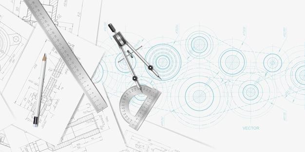 Banner tecnico di ingegneria