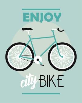Goditi la bici da città