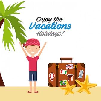 Goditi le vacanze vacanze