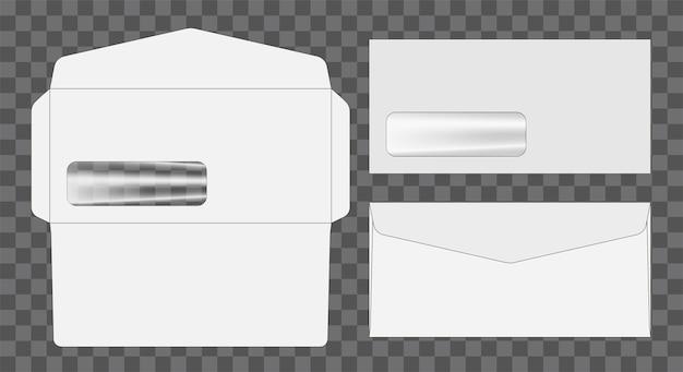 Busta da fustella mock up modello illustrazione vettoriale.