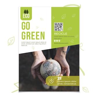 Poster di conservazione dell'ambiente