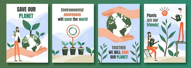 Poster di protezione ambientale
