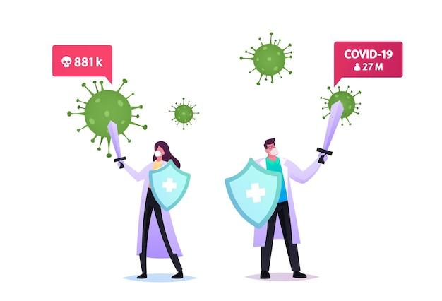 Illustrazione di epidemiologia