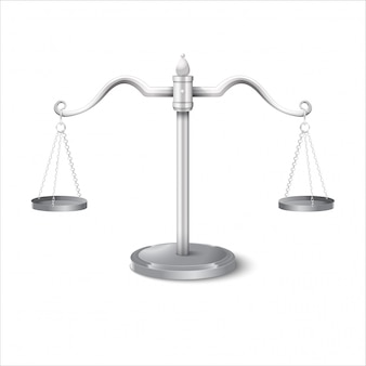Illustrazione di gradiente scale di equilibrio