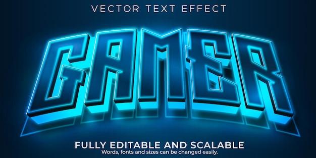 Esporta effetto testo, giocatore modificabile e stile di testo al neon