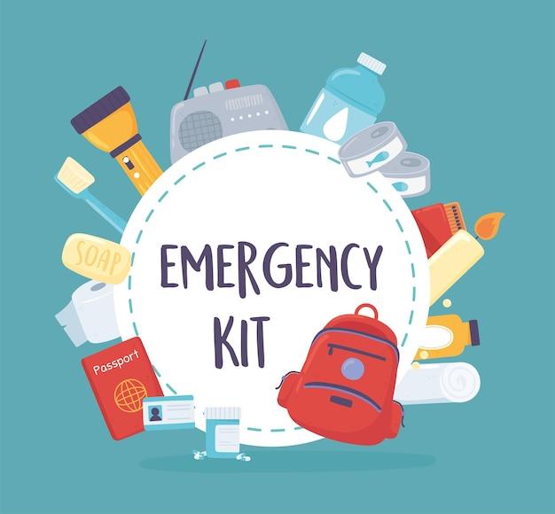 Kit di emergenza essenziale