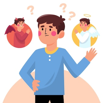 Illustrazione di dilemma etico