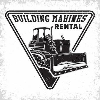 Logo dei lavori di scavo