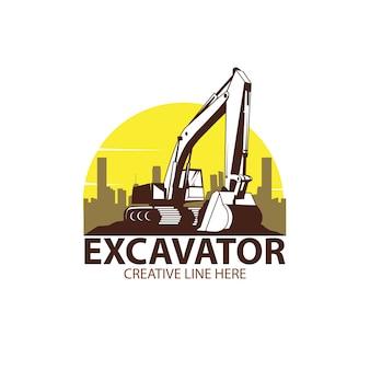 Escavatore e città